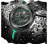T5 CHRONOGRAPH SPORTS WATCH H3619 GRN