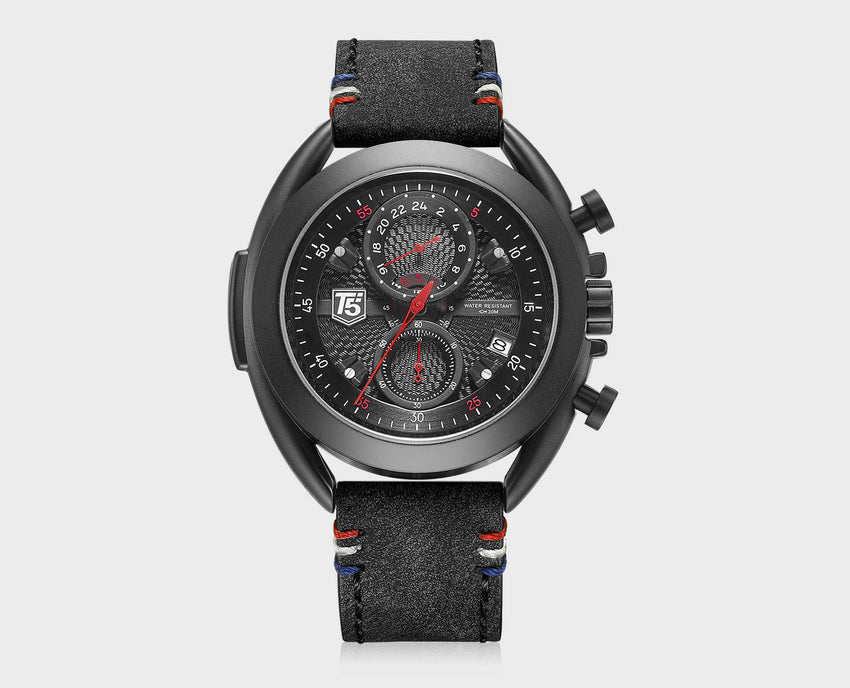 T5 CHRONOGRAPH WATCH H3673 BLK
