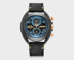 T5 CHRONOGRAPH WATCH H3673 BLU - Mashroo