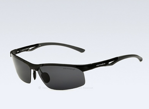 VEITHDIA POLARISED SUNGLASSES-6591-BLK - Mashroo