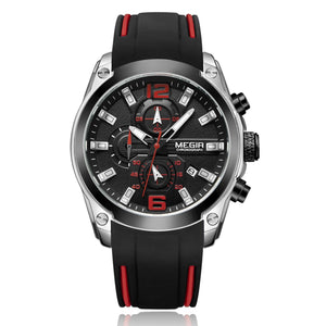 MEGIR CHRONOGRAPH WATCH M2063-B - Mashroo