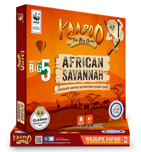 The Classic Board Game to Discover African Savannah - Mashroo