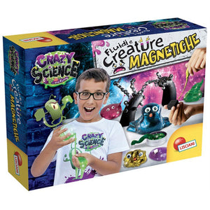 Crazy Science Laboratory Of Fluids And Magnetic Creatures - Mashroo