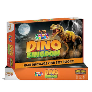 Dino Kingdom - Board Game - Mashroo