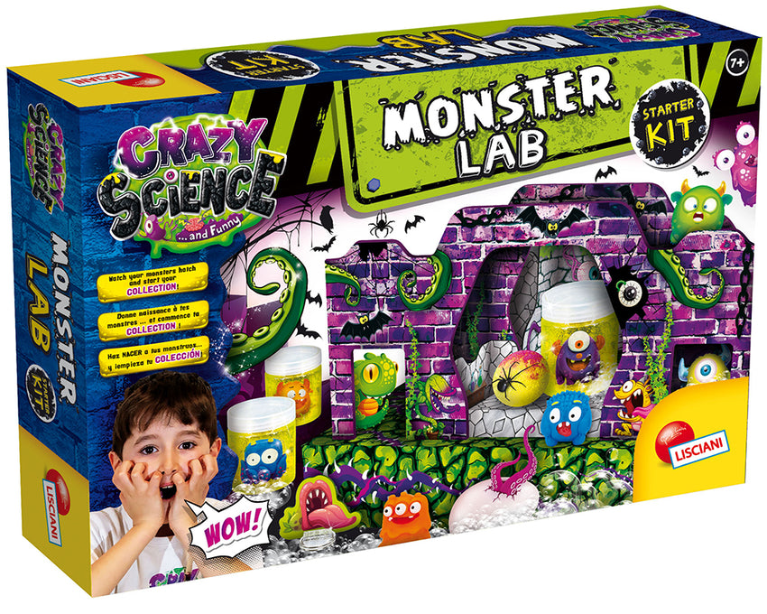 CRAZY SCIENCE MONSTER'S LABORATORY