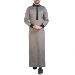 PANACHE GREY & BLACK KANDORA / THOBE for MEN by MASHROO - Mashroo