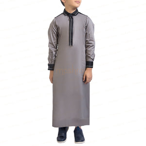 PANACHE GREY & BLACK KANDORA / THOBE for KIDS & BOYS by MASHROO - Mashroo