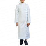 AL-LULU SKY BLUE KANDORA / THOBE for KIDS & BOYS by MASHROO
