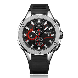 MEGIR CHRONOGRAPH WATCH M2053-B - Mashroo