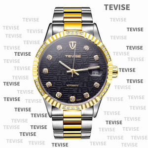 TEVISE Automatic Watch - T-5044 - Mashroo