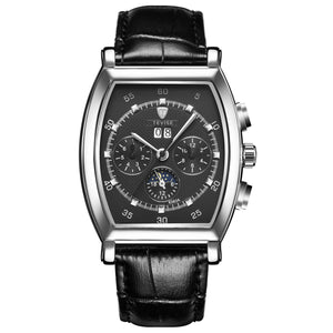 TEVISE Automatic Leather Watch - T-5020-BS - Mashroo