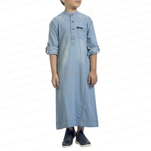 DENIM CAVALLEAR KANDORA / THOBE for KIDS & BOYS by MASHROO - Mashroo