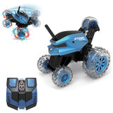 Sinovan - RC Cool Stunt 360 Rotation 2.4 GHz Car Atomic Whirlwind - Blue