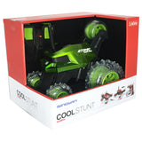 Sinovan - RC Cool Stunt 360 Rotation 2.4 GHz Car Atomic Whirlwind - Green