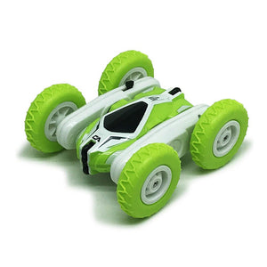 Sinovan - Mini Rc Cool Virtuosity 360 Stunt 2 4 Ghz Car Ca Swing Green - Mashroo