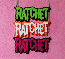 Pink Ratchet necklace