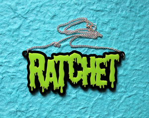 Green Ratchet necklace