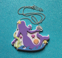 Pastel Mermaid necklace