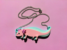 Axolotl necklace