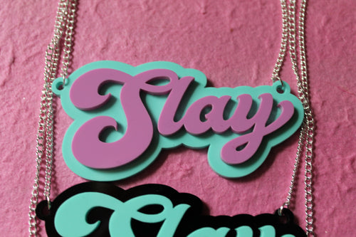 Pastel Slay necklace