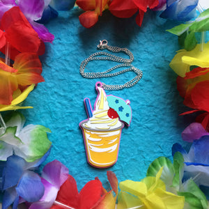 Pineapple Whip necklace
