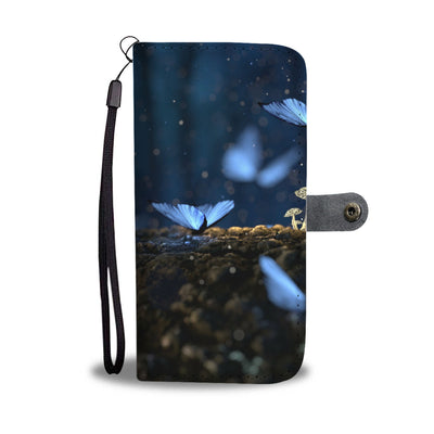 Larp Empire Phone/Wallet Case Blue Butterfly