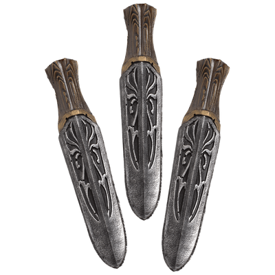 Small - Unity Throwing Knives set of 3 - Assassin Series - LARP