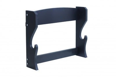 Black Single Piece Wall Stand