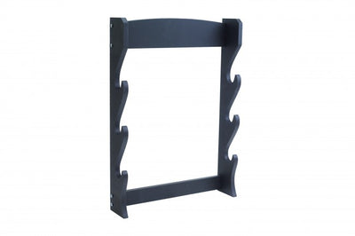 3 Piece Black Wooden Wall Stand