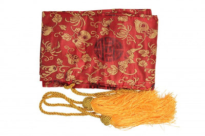 Cloth Sword Bag With Gold Tassels