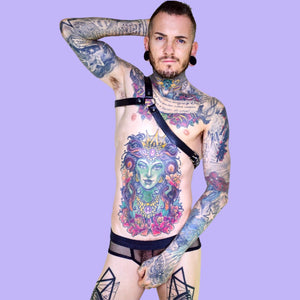 Super Gay Underwear - Matthew Leighton-Trew The Dwayne Leather Harness