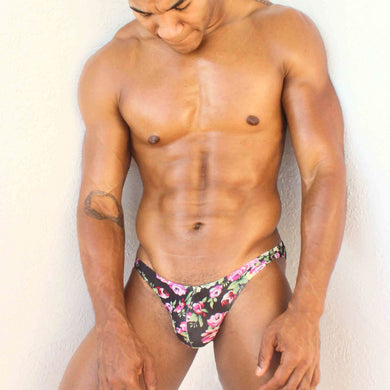 Rock Evans The Jayden Floral Printed Briefs for Men Super Gay Underwear