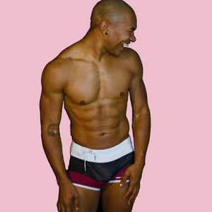 Super Gay Underwear - William Rock Evans Mens Swimwear for Gay Men