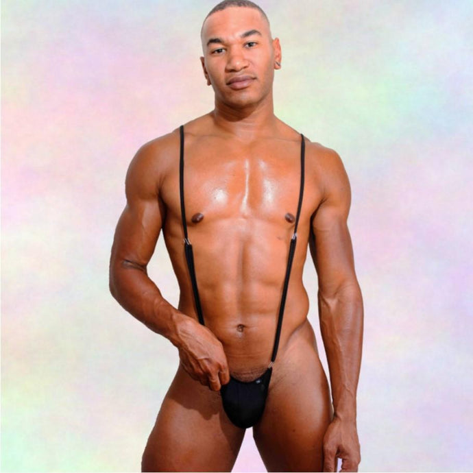Rock Evans Model The Roger Nylon Singlet Super Gay Underwear Male Model