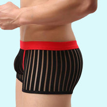 Super Gay Underwear - The Colton Black Nylon Bulge Pouch Mens Underwear Boxer