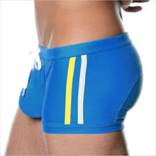 Men swim briefs swimsuit sexy gay penis pouch swimwear surf boardshorts beach Wear swim shorts swimming trunks
