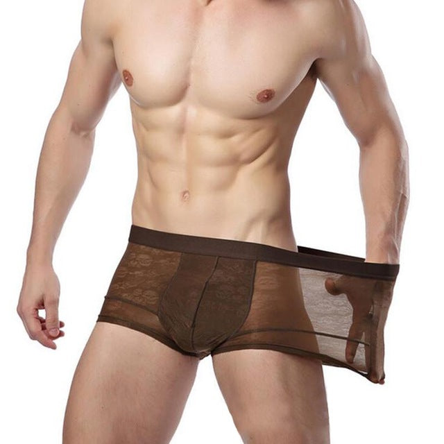 Super Gay Underwear - The Henry Coffee MicroModal Bulge Pouch Mens Underwear Boxer