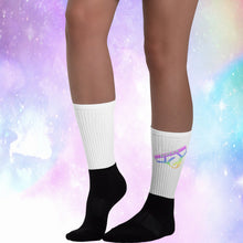 Rainbow Logo Socks