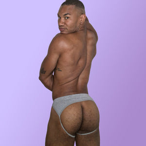 William Rock Evans aka The Miss Toto Models comfortable Cotton Jock Strap mens lingerie