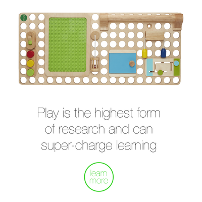 Play is the highest form of research and can super-charge learning
