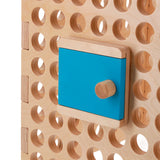 door on activity board by muro