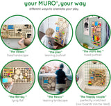 different ways to orientate your muro board