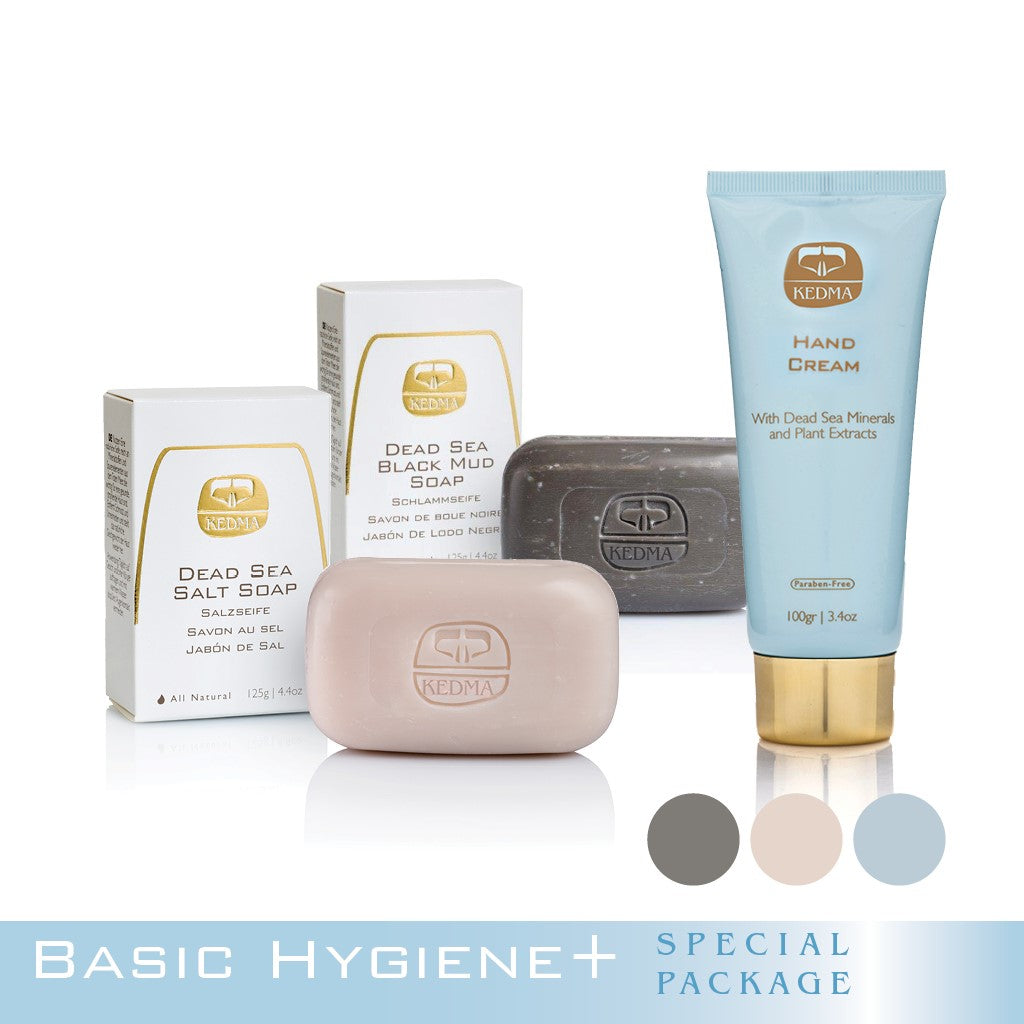 Kedma Basic Hygiene with Soap and Hand Cream