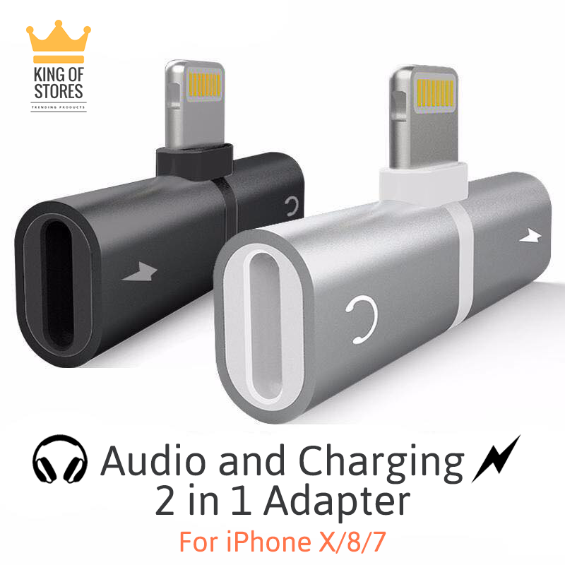 iPhone 7/8/X Charging/Audio 2in1 Adapter
