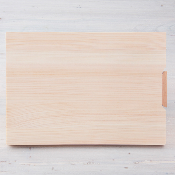 HINOKI (Japanese Cypress Wood) CUTTING BOARD with STAND