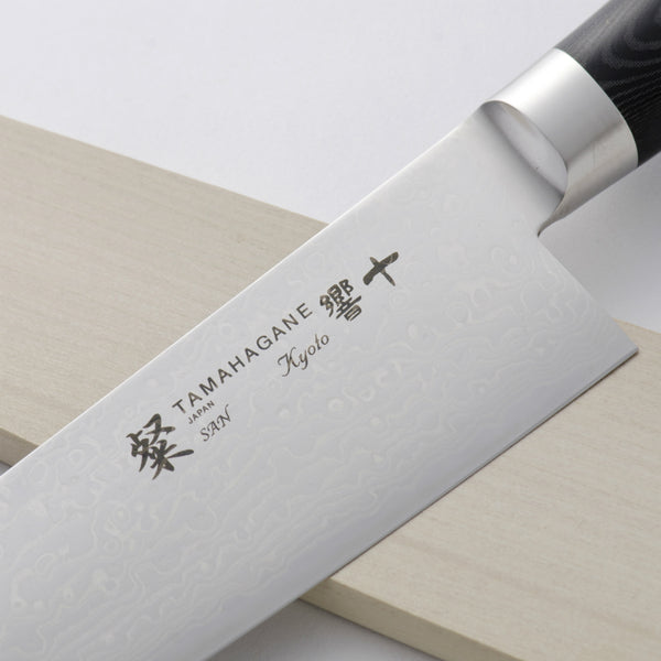 TAMAHAGANE SAN KYOTO CHEF KNIFE WITH SHEATH