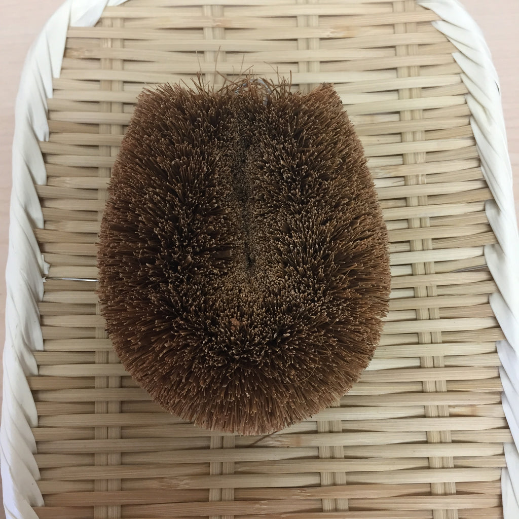 HEMP PALM SCRUBBING BRUSH-TAWASHI no handle