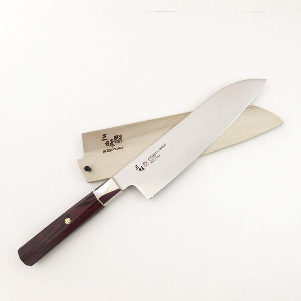 MCUSTA ZANMAI SANTOKU KNIFE with Sheath
