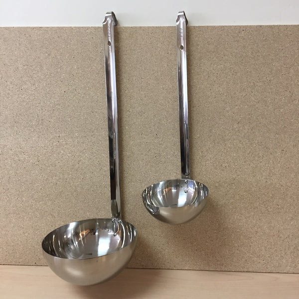 STAINLESS STEEL LARGE SOUP LADLE