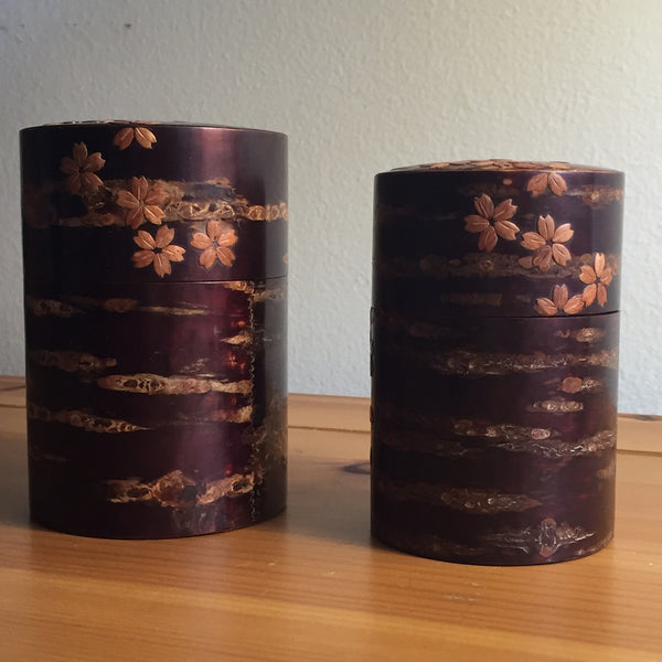 LOOSE LEAF TEA CANISTER- CHERRY BLOSSOM